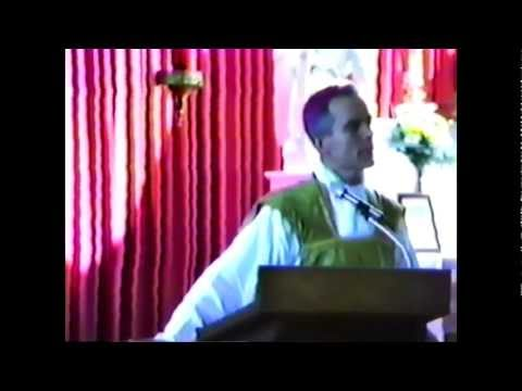 Intense Sermon by a Catholic Bishop