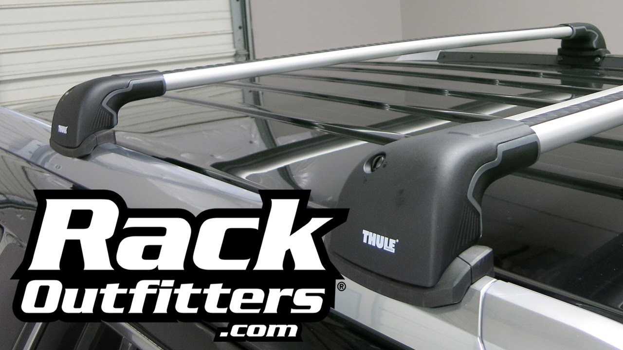 Best Roof Rack For Cadillac Escalade The Thule AeroBlade Edge From Rack  Outfitters   YouTube