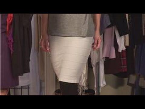 Fashion Dress Codes : How To Dress Down A Pencil Skirt