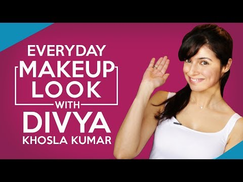 GRWM: Divya Khosla Kumar Everyday Makeup...