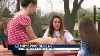 Nearly 20 girls face dress code violations at Elkhorn Area Middle School