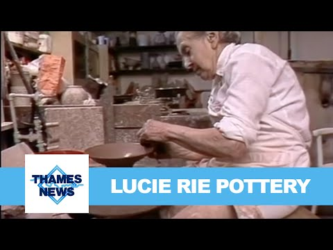 Lucie Rie Pottery | Thames News