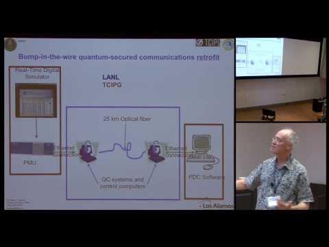 Network-centric quantum communications - Richard J Hughes