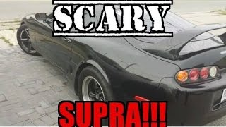 This Supra Almost killed Me!!!