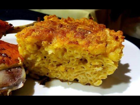 Trinidad Macaroni Pie (Eggless) | Taste of Trini
