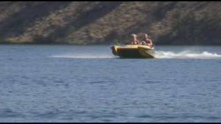 Twin Turbo Eliminator jet boat