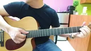 Hướng dẫn intro, lead, đệm guitar hợp âm 3-4 nốt : Bài ko tên số 4.