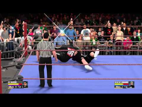 WWE 2K16: Dr. Tracksuit vs. The MC Bat Commander