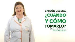 Carbón vegetal, cuándo y cómo tomarlo - #TuFarmacéuticoInforma