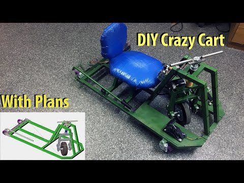 diy crazy cart with plans youtube