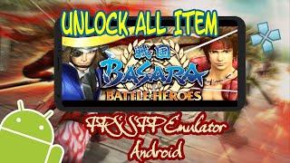 Link Download+Gameplay Sengoku Basara - Battle Heroes PPSSPP Unlock All item