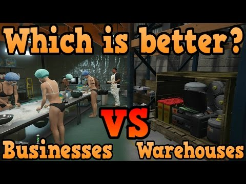 GTA Online Guides - MC Business Vs CEO Warehouses