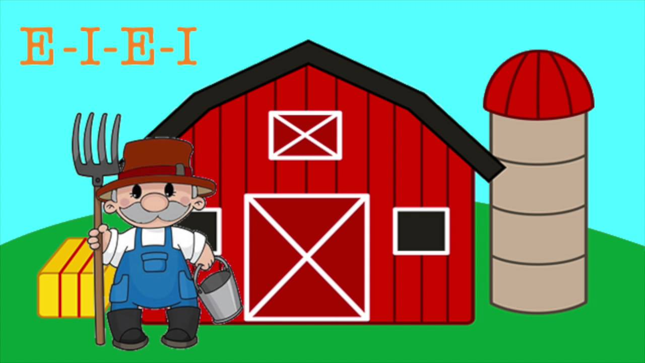 OLD MACDONALD HAD A FARM - YouTube Clip Art Pictures Of Farm Houses