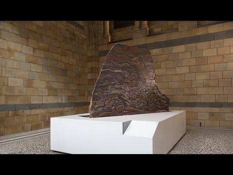 Ancient Australian rock arrives in London