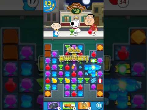 Family Guy - Another Freakin Mobile Game - Level 36 - No Boosters (by Match3news.com)