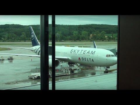 Delta Air Lines Boeing 767-300ER N175DZ DL 408 Zurich-New York JFK Economy Class Trip Report