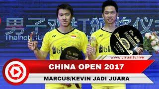 Marcus/Kevin Pertahankan Gelar pada China Open 2017