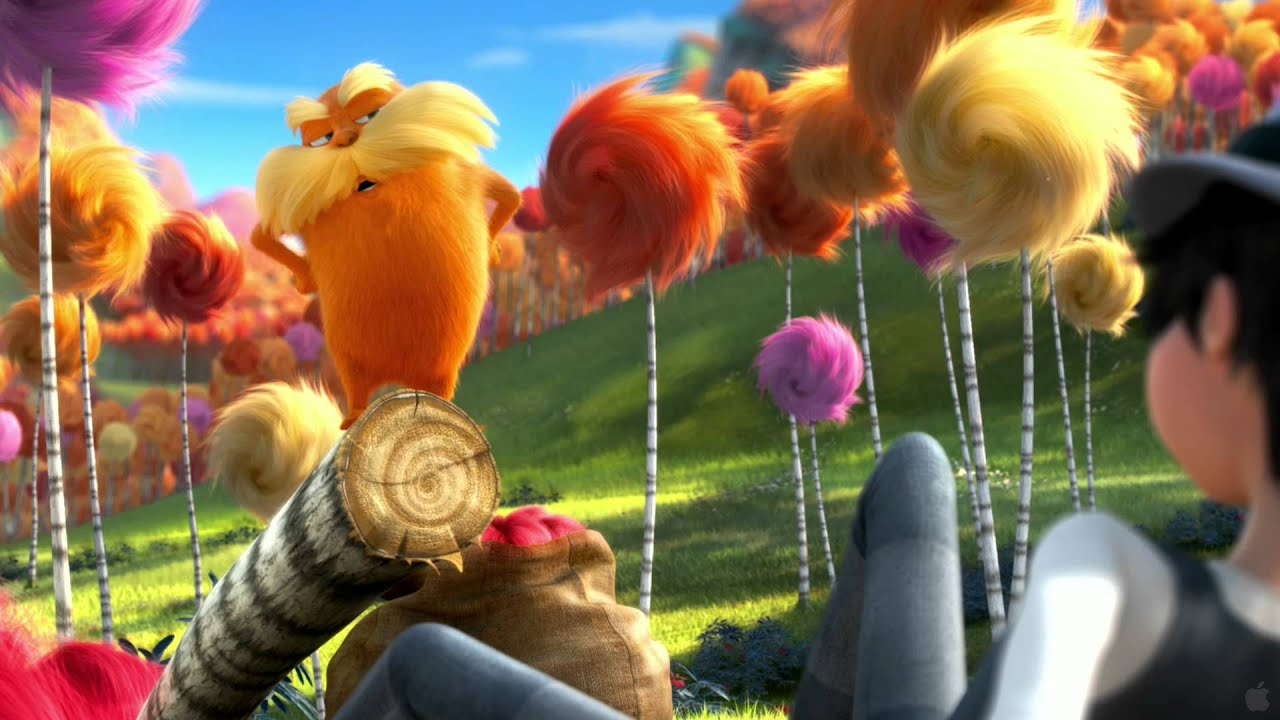 Dr. Seuss' The Lorax - Movie Trailers - YouTube