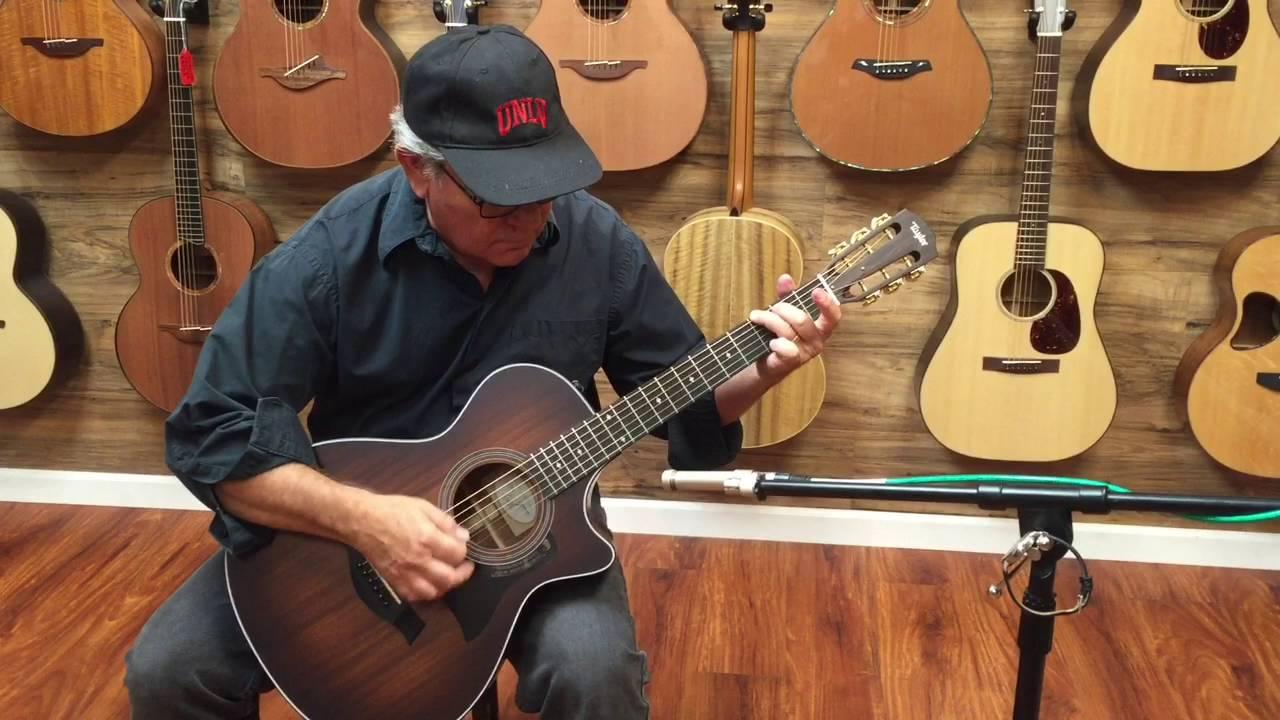 taylor 322ce 12 fret on sale heartbreaker guitars youtube