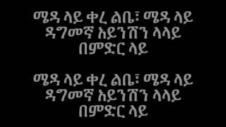 Tibebu Workeye - Meda Lay kere ሜዳ ላይ ቀረ (Amharic With Lyrics)