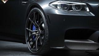 BMW M 5 Замена тормозных калодок !
