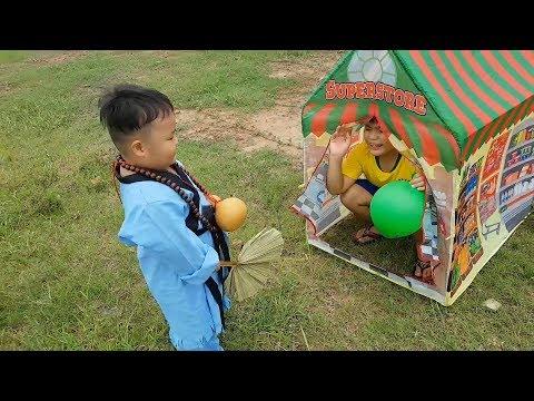 Trò Chơi Bé Pin Bụt Siêu Nhí ❤ ChiChi ToysReview TV ❤ Đồ Chơi Trẻ Em Baby Doli Fun Song Bài Hát Vần