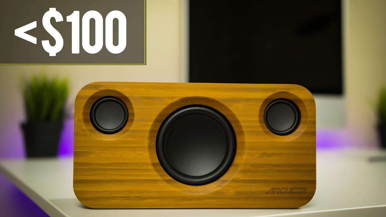 Best Bluetooth Speaker Under $100? + GIVEAWAY!   Archeer A320 Bluetooth  Speaker Review (2017)