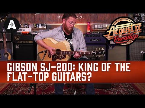 Gibson Montana SJ200 Original in Antique Natural SN 20430096  Top Shelf Guitars