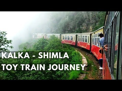 Kalka To Shimla Full Journey By Kalka Shimla Express