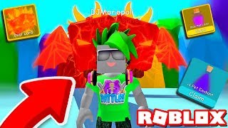 He got EVERY reward and the DUAL LORD PET! (Roblox Bubble Gum Simulator)
