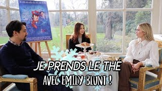 JE PRENDS LE THÉ AVEC EMILY BLUNT POUR MARY POPPINS ! - VLOGMAS 10