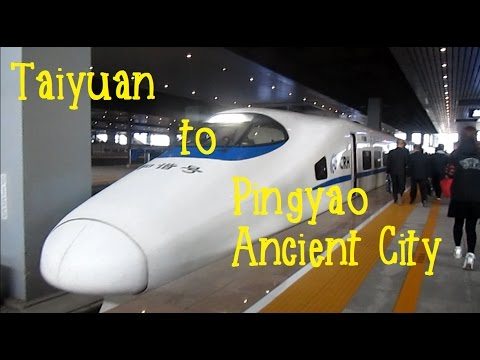Taiyuan South Railway Station to Pingyao Ancient City Station