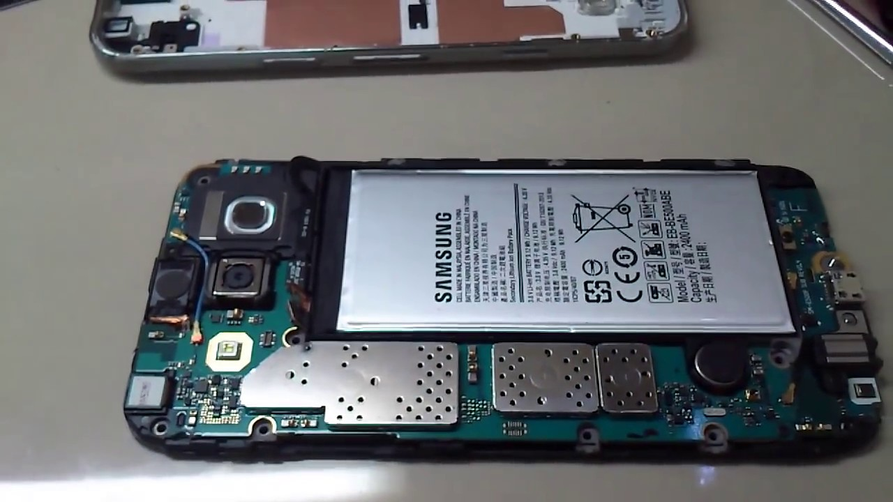 Bongkar Samsung Galaxy E5 Youtube