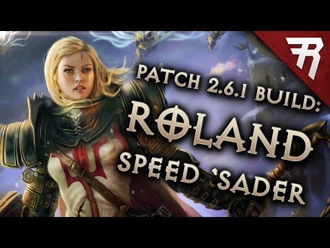 Diablo 3 Season 15 Crusader Roland Speed build guide (and bounties) (Patch 2.6.1)