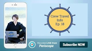 How do you get free flights on leave as a crew member? Crew Travel Info Ep. 18