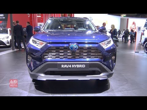 2019 Toyota RAV4 Hybrid - exterior And interior Walkaround - 2018 Paris Motor Show