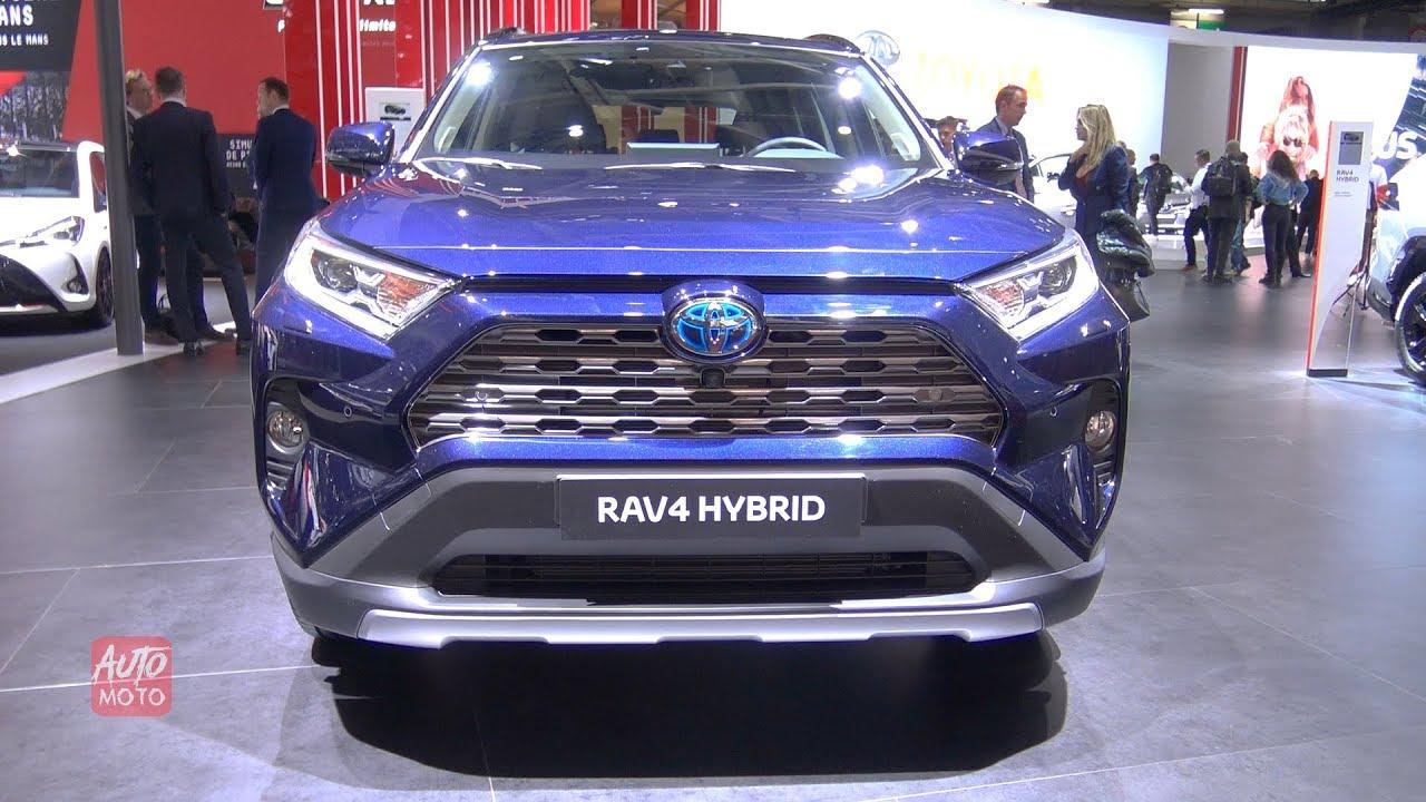 2019 Toyota Rav4 Hybrid Exterior And Interior Walkaround 2018