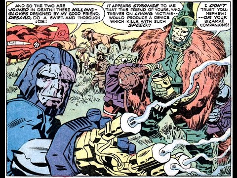 Fourth World Frenzy: A Musical Excursion Into the Realms of the New Gods (Jack Kirby art)