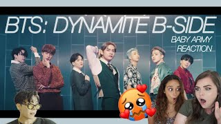 BTS: Dynamite B-Side MV Reaction | she can't even argue that she isn't army anymore