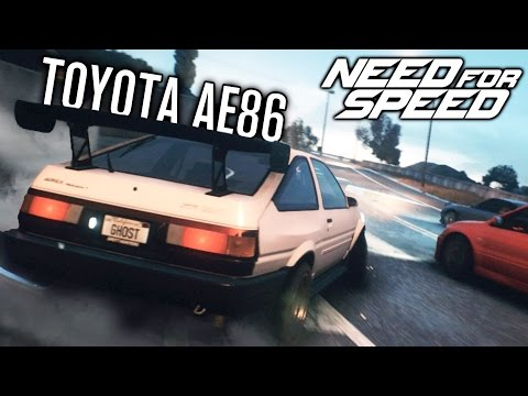Need for Speed 2015 Let's Play | TOYOTA AE86 DRIFT BUILD? | Episode 14