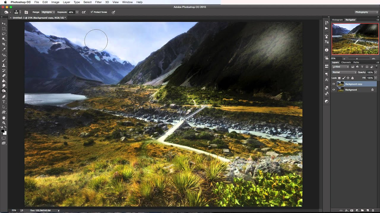 Photoshop tutorial how to use the dodge and burn tools youtube baditri Gallery