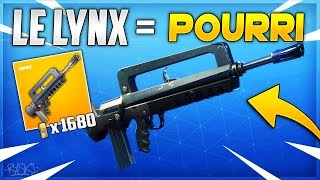 Fortnite: This Weapon is not OUF on Fortnite Save the World! - ( Introducing the Lynx)