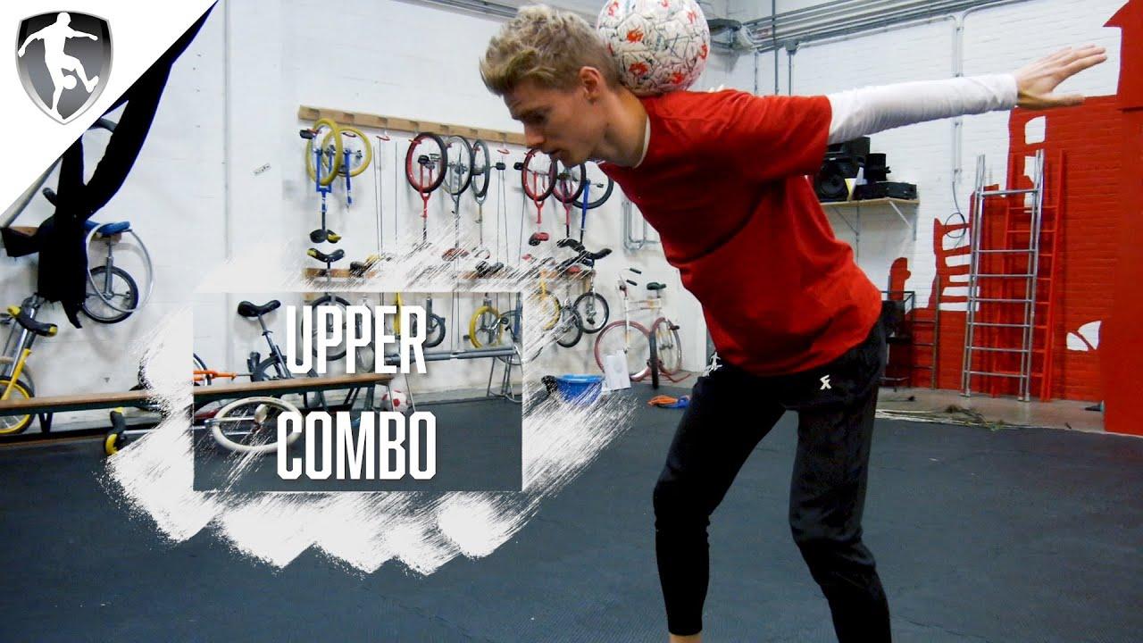 Leer Freestyle Voetbal - Upper Combo