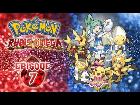 POKÉMON RUBIS OMÉGA Épisode #7 Les Concours Pokémon ! Let's play Français