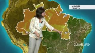 Previsão Norte – Muita chuva no AM e RO