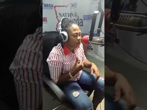Joyce Blessing On Oman Fm with 'The Silver Lady' pt. 2