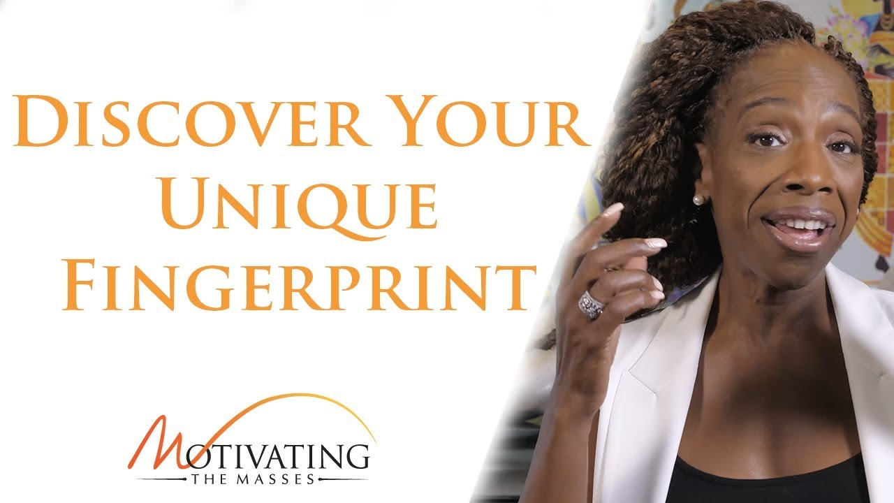 Lisa Nichols - How To Discover Your Unique Fingerprint