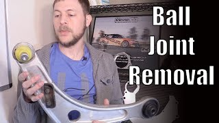 Ball Joint Removal - Install // EVO 8 how-to video