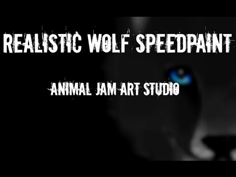 Download Fuzywuzy Draws - Realistic Wolf Speedpaint - AJ Art Studio