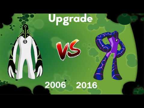 Ben 10 2006 VS 2016 - Porównanie Obcych